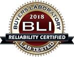 BLI 2018 - Reliability Certified